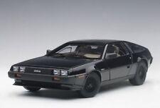Autoart 79917 Échelle 1/18 de Lorean Dmc-12 1981 Black Met