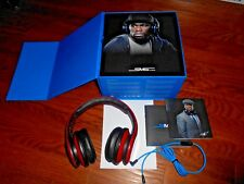 SMS Audio: Street By 50 Cent On Ear Headphones Red* Great Sound Soft]I Ship Fast