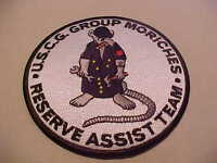 U.S. COAST GUARD GROUP MORICHES RESERVE ASST. TEAM PATCH ** FREE USA SHIP ***