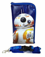 Disney Star Wars BB 8 Lanyard Fastpass Ticket Holders with Detachable Coin Purse