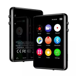 MP3 Player Bluetooth 5.0 Touch Screen Music Player Portable 8/16/32GB MP3 Player