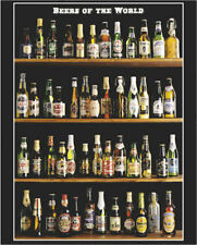 Beers of the World Poster 16x20