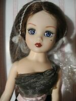 NRFB Madame Alexander COQUETTE Cissy Doll Elegant Attitude Sequin Gown COA Stand