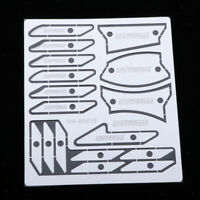 Etching Parts For Gundam Model DIY Scribing Templates Photo-etched Sheets