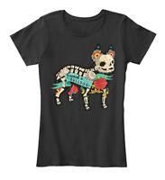 Halloween French Bulldog - Women's Premium Tee T-Shirt