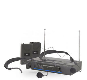 QTX Dual Microphone System Perfect To Use With Silent Disco King Products