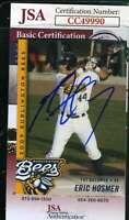 Eric Hosmer 2009 Burlington Rookie Jsa Coa Hand Signed Authentic Autograph