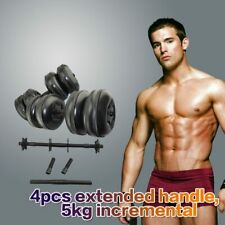 1 pair 25kg Dumbbells Adjustable Water Fillable Dumbbells Set Gym home fitness