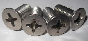 MG Midget, AH Sprite, Rear Brake Drum Securing Screws (Qty 4) - Stainless Steel.