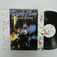 Prince And The Revolution – Purple Rain LP 1984 JAPAN P-13021 FUNK SOUL w/ obi