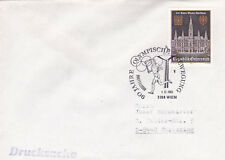 Austria 1983 90th anniversary of Olympic Movement Cover VGC
