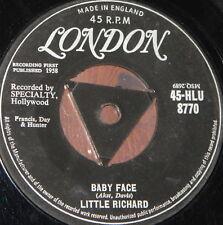 "LITTLE RICHARD ~ BABY FACE b/w I'LL NEVER LET YOU GO ~ UK TRI LONDON 7"" SINGLE"