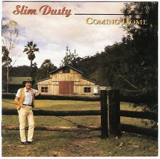 SLIM DUSTY Coming Home CD album 1990 oz aussie country Joy McKean Mike Kerin