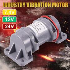 DC 7.4/12/24V 10W Vibration Motor Rotary Speed Vibrating Motor Plastic Industry