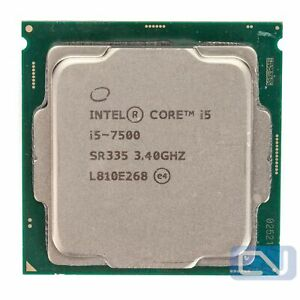 Intel Core i5-7500 Quad Core 3.4GHz 6MB 8 GT/s SR335 LGA1151 Fair Grade CPU