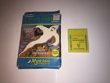Castle Hassle Commodore 64 TESTED W/ BOX VERY RARE GOOD YELLOW CART