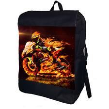 Valentino Rossi Motorbike Racing School College Shoulder Bag Backpack