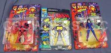 Marvel Comics X-Men X-Force KILLSPREE NIMROD & DOMINO Action Figures ToyBiz NIP