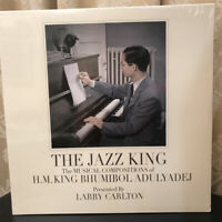 RARE The Jazz Music Composition H.M.King Bhumibol Adulyadej By Larry Carlton LP