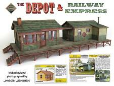 HO Scale Depot and Railway Express Kit by Showcase Miniatures (2013)