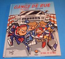 2011 GANGS DE RUE ROUGES VS LES BLEUS MONTREAL CANADIENS NORDIQUES FRENCH COMIC