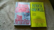 PATRICIA CORNWELL LOT 2 PAPERBACK PREDATOR & FROM POTTER'S FIELD FREE USA SHIP