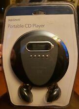New Insignia Portable personal MP3/CD CDR CD/RW Player Anti-Skip Free Headphones