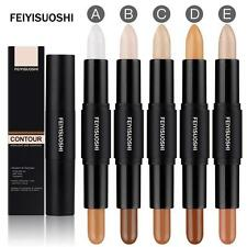 3D Contouring 2 In 1 Contour Stick Double-ended Highlighter Bronzer Blemish