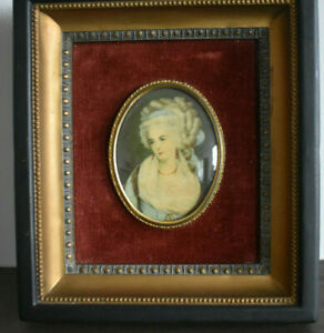 Cameo Creations Mrs Chaplin Framed by George Romeny Victorian portrait