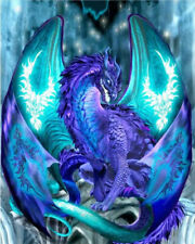 Full Drill Wing Dragon 5D Diamond Painting Embroidery Cross Crafts Stitch Decor