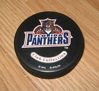 NHL Florida Panthers Club Collection Paul Laus Enforcement Hockey Puck Only