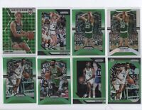 BOSTON CELTICS 🍀 GREEN Silver Prizm lot Larry Bird Bill Russell Jaylen Brown 16
