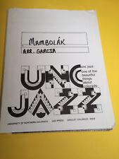 Mambolák, by Antonio Garcia, Big Band Arrangement