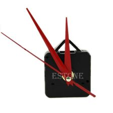 Red Hands Silence Quartz Clock Movement Mechanism Parts DIY Tool