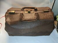 Vintage Cowhide Leather Doctors Bag