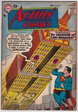 Action Comics #234 F+ 6.5 Superman The Creature Of 1000 Disguises 1957!-