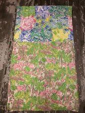New listing Lot Of 2 Pottery Barn Kids Lilly Pulitzer Muslin Swaddling Blankets Euc Organic