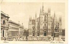 MILANO - PIAZZA DEL DUOMO - V1928 - TRAM
