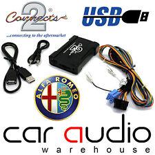 Connects2 ctaarusb001 Alfa Romeo 147 156 00 & gt Coche Usb Sd Aux De Interfaz Adaptador