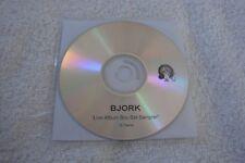 BJORK Live Album Box Set Sampler Promo CD - Army of Me Hypterballad