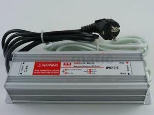 komforthaus LED Netzteil, wasserdicht für den Außeneinsatz, 12 Volt 100Watt IP6