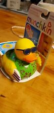 Munchkin Safety Bath Yellow Duck w/ White Hot Alert and Other set of Ducks