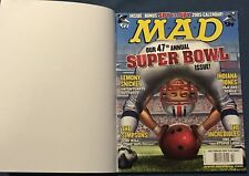 Mad Magazine #450  Feb 2005  Subscription Copy With Outer Cover  Super Bowl