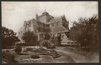 Hampshire. Romsey. Romsey Abbey, South Side - Vintage Real Photo Postcard
