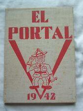 1942 TRACY UNION HIGH SCHOOL YEARBOOK TRACY, CALIFORNIA  EL PORTAL
