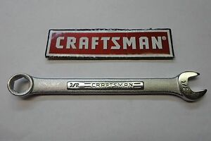 CRAFTSMAN   SAE    6PT COMBINATION WRENCH ANY SIZE YOUR CHOICE