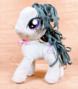 "My Little Pony Octavia 2012 Hasbro Plush Gray & Purple Stuffed Toy 12"" Retired"
