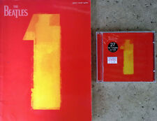 BEATLES - 1 - 27 NO. 1 SINGLES - CAPITOL - SEALED CD  + 109 PAGE SONGBOOK