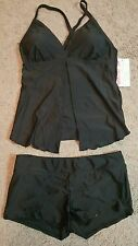 HOT FROM HOLLYWOOD Women's two Piece Tankini Swimsuit sz. XL, NWT