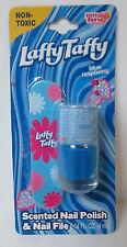 LAFFY TAFFY Candy Scented Nail Polish & Nail File BLUE RASPBERRY Non-Toxic HTF